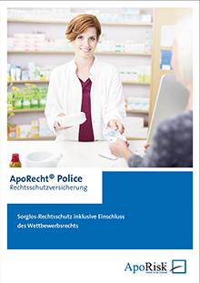 Prospekt ApoRecht-Police Rechtsschutzversicherung